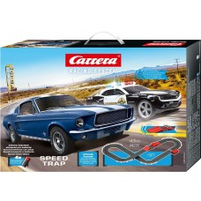 Carrera FIRST Speed Trap Battery Operated Slot Car Set 20063504