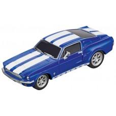 Carrera GO!!! Ford Mustang '67 Blue Slot Car