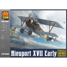Copper State Models 1/32 Nieuport XVII Early Plastic Model Kit