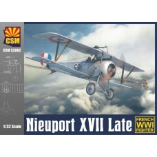 Copper State Models 1/32 Nieuport XVII Late Plastic Model Kit