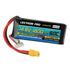 Common Sense RC 14.8V 1800mAh 60C Lipo Battery