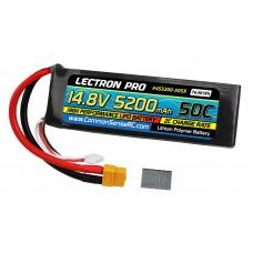 Common Sense RC 14.8V 5200mAh 50C Lipo Soft Pack XT60/Traxxas Adapter