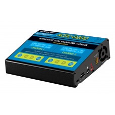 Common Sense RC DUO MAX - 200W 10A Two-Port Multi-Chemistry Balancing Charger (LiPo/LiFe/LiHV/NiMH)