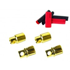 Common Sense 8mm Bullet Connectors 2 Male/Female