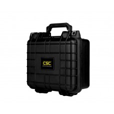 Common Sense Rc Premium Weather Resistant Single Pistol Case - Black - DIY Foam