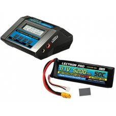 Common Sense RC Power Pack 5 ACDC-10A Charger W/ 11.1v 5200mah Lipo