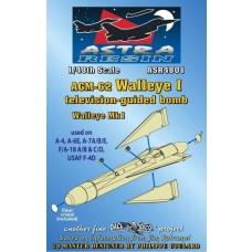 Daco 1/48 AGM62 Walleye I Mk 1 Resin Model Parts