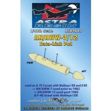 Daco 1/48 AN/AWW7/12 Data-Link Pod Resin Model Parts