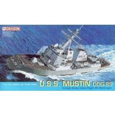 Dragon Models 1:700 USS Mustin DDG-89 Plastic Model Kit