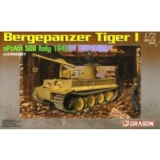 Dragon Models 1:72 Demo Tiger w/Zimmerit Plastic Model Kit