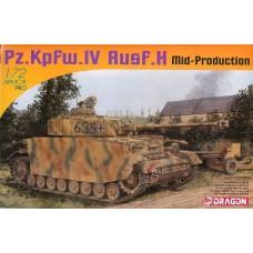 Dragon Models 1/72 Pz.Kpfw.IV Ausf.H Mid Production Plastic Model Kit