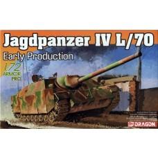 Dragon Models 1/72 Jagdpanzer IV L/70 Early Plastic Model Kit