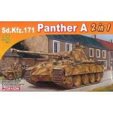 Dragon Models 1/72 Sd.Kfz.171 Panther A (2 in 1) Plastic Model Kit