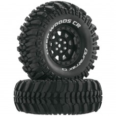 "Duratrax Deep Woods CR C3 Mounted 1.9"" Tires"