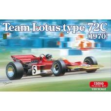 Ebbro 1:20 1970 Lotus Type 72C Team Plastic Model Kit