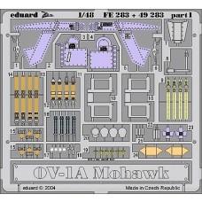 Eduard 1:48 OV1A Mohawk Interior Photo-etched Parts
