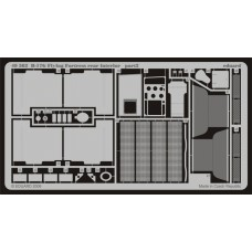 Eduard 1:48 B-17G Flying Fortress Rear Interior Photo-etched Parts