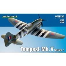 Eduard 1/48 Tempest Mk V Series 1 Plastic Model Kit