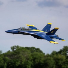 E Flite F-18 Blue Angels 80mm EDF BNF Basic