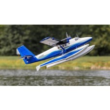 E-Flite Twin Otter BNF Basic with AS3X and SAFE, Includes Floats