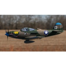 E-Flite P-39 1.2m BNF Basic with AS3X and SAFE Select