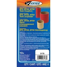 Estes Model Rocket Body Tube Couplers