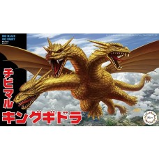Fujimi Chibi-maru Godzilla King Ghidorah Plastic Model Kit
