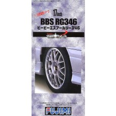 "Fujimi 1:24 BBS RG346 17"" Tire & Wheel Set Plastic Model Kit"