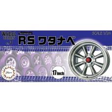 "Fujimi Models 1:24 RS Watanabe 17"" Tire Plastic Model Kit"