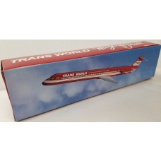 Flight Miniatures 1/200 TWA MD-80 Red Plastic Model Kit