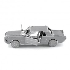 Fascinations Metal Earth Ford 1965 Mustang Coupe Metal Model Kit