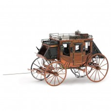 Fascinations Metal Earth Wild West Stage Coach Model