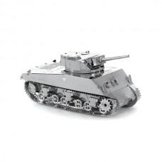 Fascinations Metal Earth Sherman Tank Metal Model Kit