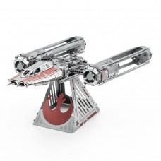 Fascinations Metal Earth Star Wars Zorii's Y-Wing Fighter Metal Model Kit