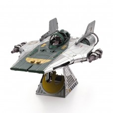 Fascinations Metal Earth Star Wars Resistance A-Wing Fighter Metal Model Kit