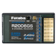 Futaba R2006GS 2.4Ghz S-FHSS 6 Channel Receiver
