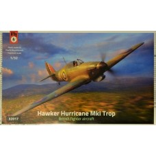 Fly Models 1:32 Hurricane Mk.I Trop Plastic Model Kit