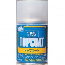 Gunze-Sangyo Mr. Top Coat Flat Spray Paint