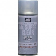 Gunze-Sangyo Mr. Super Clear Gloss 170ml Spray Paint