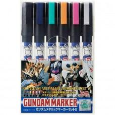 Gunze-Sangyo Gundam Metallic Marker II Set