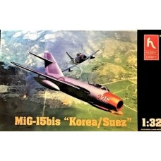 Hobby Craft Canada 1:32 MiG-15bis Plastic Model Kit