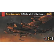 HK Models 1:32 Lancaster B Mk.I/III 3n1 Plastic Model Kit