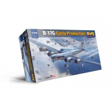 HK Models 1:48 B-17G Flying Fortress Early Production Plastic Model Kit