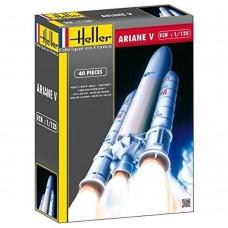 Heller 1/125 Ariane V Plastic Model Kit