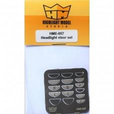 Highlight Model Studio 1:25 Headlight Visor Set