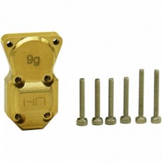 Hot Racing Brass Differential Cover SCX24