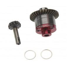 Hot Racing Steel Spiral Bevel Gear Set 1/16 Traxxas