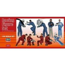 Hasegawa 1/24 Racing Plastic Figure Set