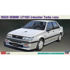 Hasegawa 1/24 1989 Isuzu Gemini (JT150) Turbo Plastic Model Kit