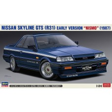 Hasegawa 1/24 1987 Nissan Skyline GTS (R31) Early Version Plastic Model Kit